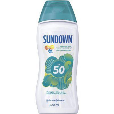 Protetor solar Sundown FPS 50 120ml.