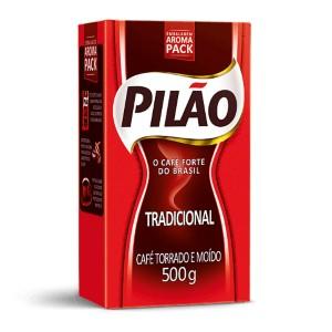 Café Pilão tradicional 500g.
