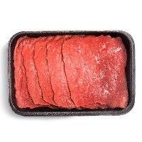 Bife de coxão duro bovino resfriado 500g.