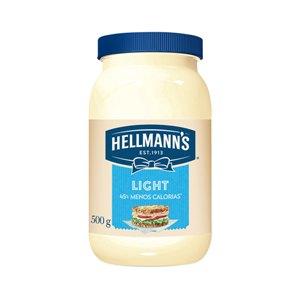 Maionese Hellmanns light 500g.