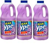 Desinfetante Bak Ypê lavanda 2lts (pacote c/ 3 unid.)
