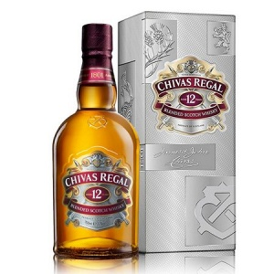 Whisky Chivas Regal 12 anos 1lt