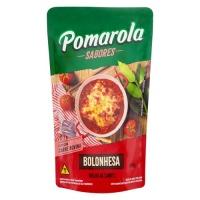 Molho de tomate bolonhesa Pomarola sachê 300g.