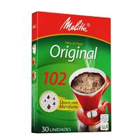 Filtro papel Melitta 102 médio