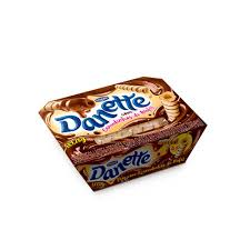 Sobremesa Danone Danette c/ canudinho wafer 189g.