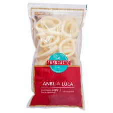 Anéis de lula congelado Frescatto 400g.