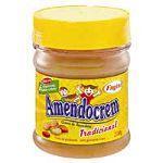 Creme de amendoim Amendocrem tradicional Fugini 200g.