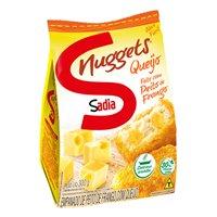 Nuggets de frango com queijo  Sadia 300g.