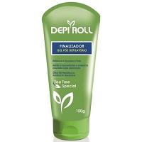 Gel hidratante pós depilação Depi Roll 120g