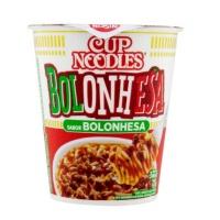 Cup Noodles bolonhesa Nissin 72g.