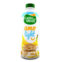 Iogurte light banana e aveia  Canto de Minas 900ml