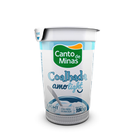 Coalhada light Canto de Minas 140ml.
