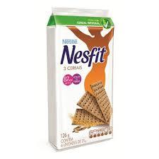 Biscoito combina com seu dia 3 cereais integrais (Nesfit) Nestle 126g.