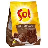 Mistura para bolo de chocolate Sol 400g.