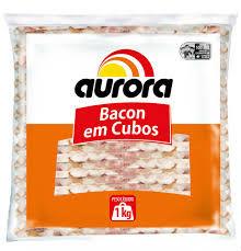 Bacon em cubos 1kg