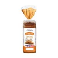 Pão de forma sabor manteiga fatiado Seven Boys 500g.