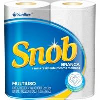 Papel toalha Snob tradicional 02 rolos 22x20 cm