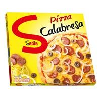 Pizza calabresa Sadia congelada 460g.