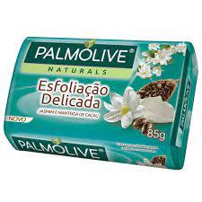 Sabonete Palmolive esfoliação delicada jasmim e manteiga de cacau 85g
