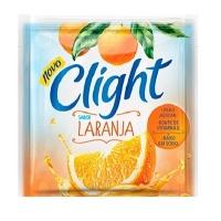 Refresco em pó Clight laranja 8g.