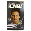 Tinta para cabelo Biocolor homem 3 em 1 castanho médio