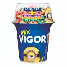 Iogurte mix c/ cereais de frutas Vigor Mions 165g