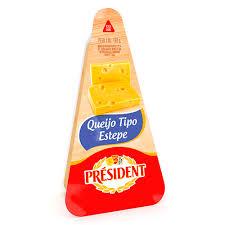 Queijo Estepe fracionado President 160g