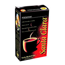 Café a vácuo premium Santa Clara 250g
