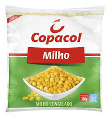 Milho verde congelado Copacol 300g