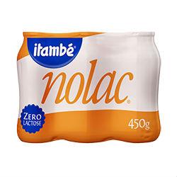 Leite fermentado zero lactose Itambé 6x90g