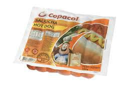 Salsicha hot dog  Copacol 500g.