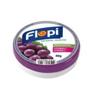 Bala de uva sem adição de açucar Flopi 40g.