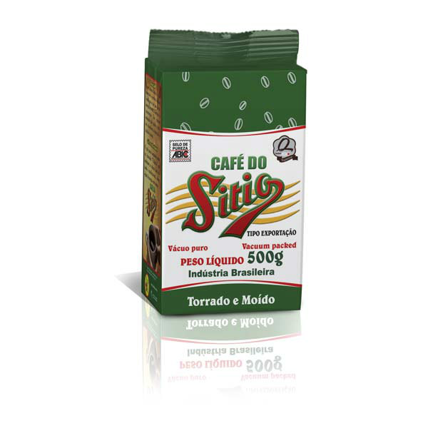 Café a vácuo do Sítio 500g.