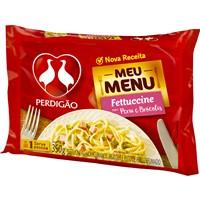 Fettuccine com peru e brócolis Meu Menu Perdigão 300g.