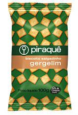 Biscoito salgadinho gergelim Piraquê 100g
