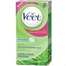 Folhas de cera fria depilatória corporal com aloe vera p/  pele seca Veet 12x1