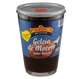 Geléia de mocotó sabor morango 180g