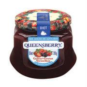Geléia frutas vermelhas diet Queensberry 320g.