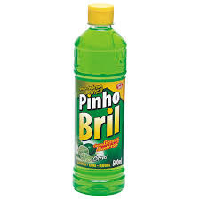 Desinfetante Pinho Bril flores de limão 500ml.