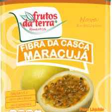Farinha de casca Maracujá Frutos da Terra 100g.