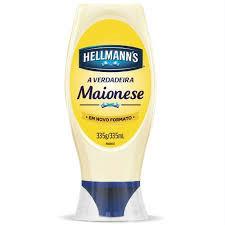 Maionese Hellmanns squeeze 335g