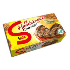 Hamburguer sabor Churrasco Sadia 672g