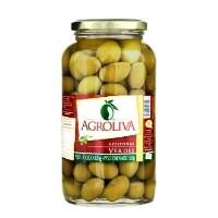 Azeitona verde com caroço  Agroliva 500g