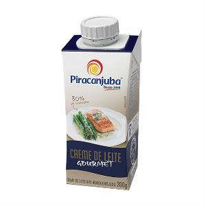 Creme de leite gourmet Piracanjuba 200g