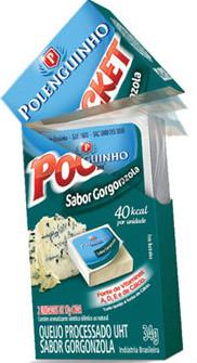 Polenguinho gorgonzola pocket 34g.
