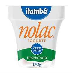 Iogurte natural desnatado zero lactose Itambé 170g
