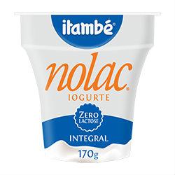 Iogurte natural integral zero lactose Itambé 170g