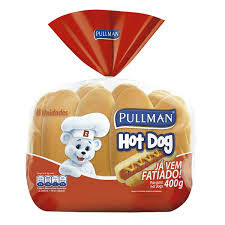 Pão hot dog Pullman (4x1) 200g