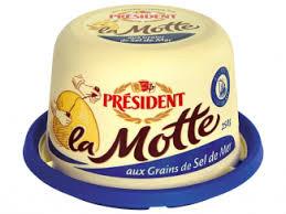 Manteiga especial Président Motte 250g
