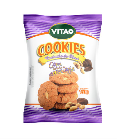 Cookies cacau com farinha de soja e arroz Vitao 150g